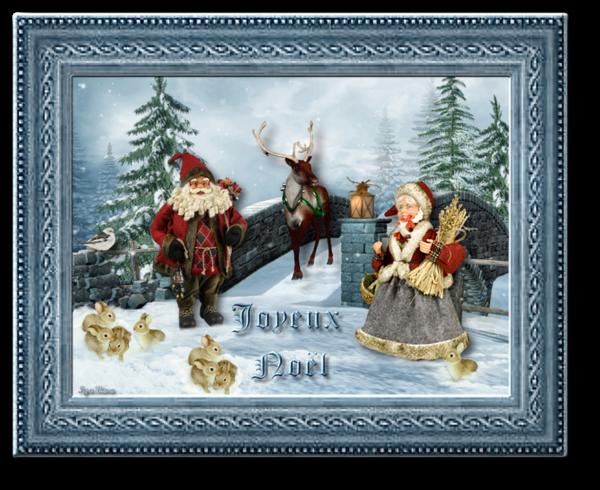 Les Préparatifs de Mère et Père Noël