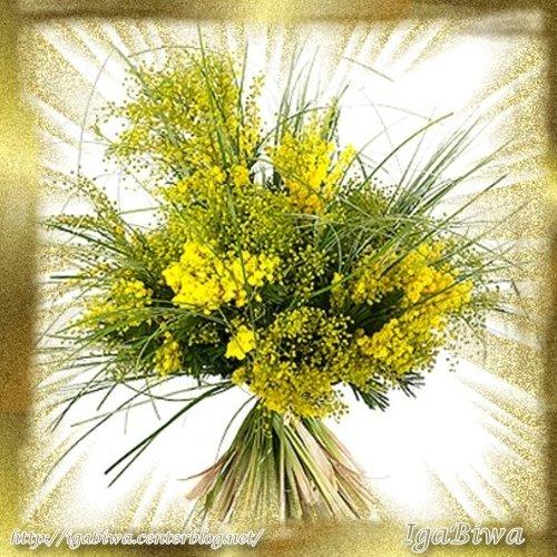 Bouquet De Fleurs Mimosa